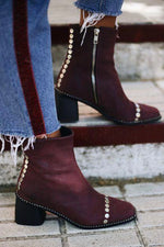 FILIPA BOOTS GRANATE
