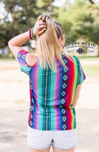 "Load image into Gallery viewer, ""Cut It Out"" Serape Top"