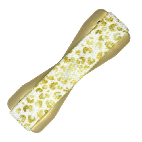 Gold Leopard Love Handle Phone Grip