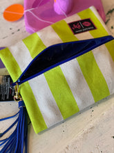 Load image into Gallery viewer, Cabana Neon Makeup Junkie Bag