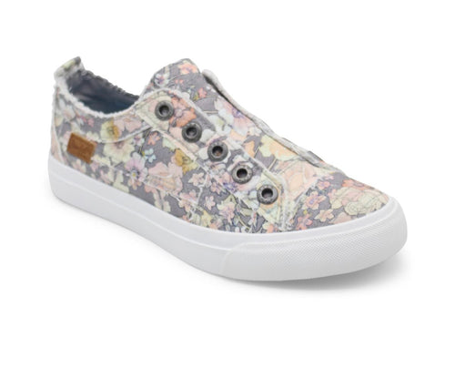 Gray Gypsy Canvas Blowfish Sneakers