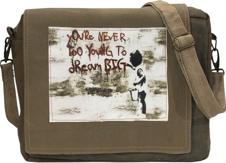 Never Too Young Tent Crossbody Bag