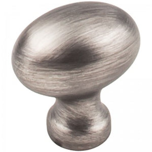 Bordeaux 1-3/16 Inch Long Oval Cabinet Knob