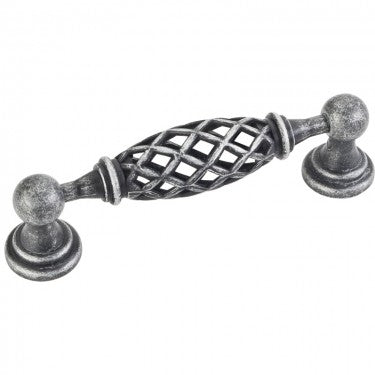 Tuscany 3-3/4 Inch Center to Center Birdcage Cabinet Pull