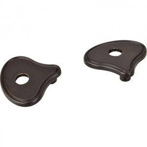 Wide Rounded Transition Pull Escutcheon 3 Inch to 96mm
