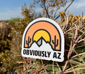 ObviAZ Logo Sticker - Obviously Arizona