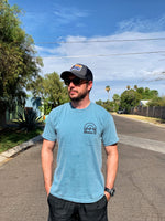 Park In The Shade - Short Sleeve - Ice Blue - Obviously Arizona
