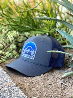 Blue Saguaro Hat - Charcoal/Navy - Obviously Arizona