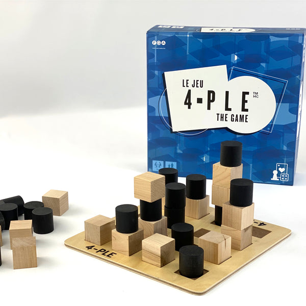 NEW from the creators of KEVA: 4-PLE The Game - kevaplankscom