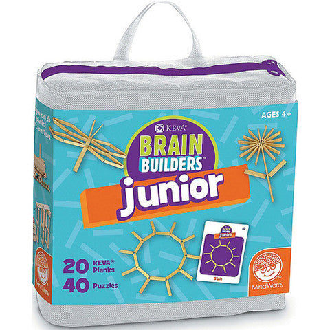 KEVA Brain Builders Junior by Mindware - kevaplankscom