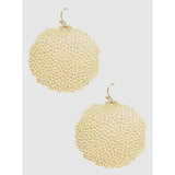 Filigree Coral Reef Drop Earrings (5390487912613)
