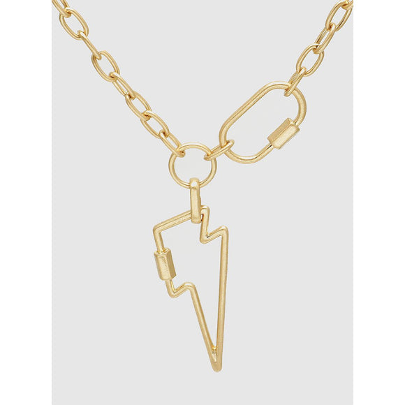 Thunderbolt Chain Necklace (5395646742693)