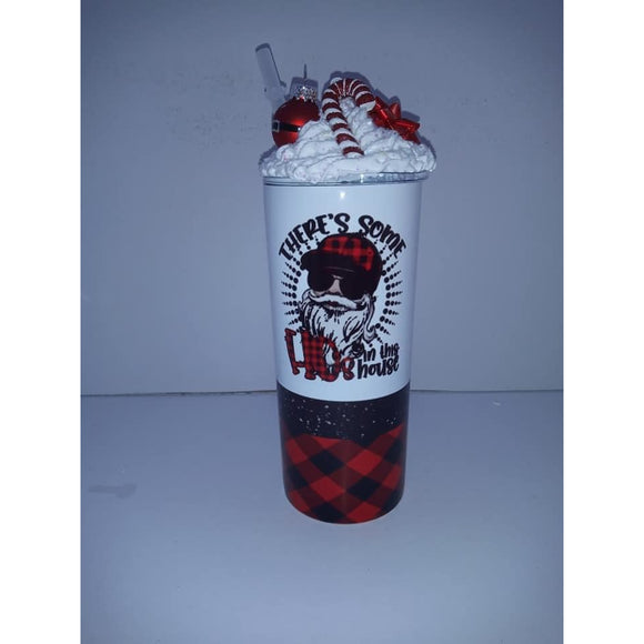 Copy of 90's Queen Skinny Tumbler with Metal Straw (6076629745845)