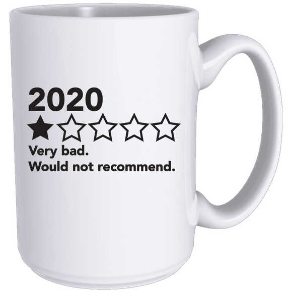 2020 - Would Not Recommend - Classic Mug (5440857178277)