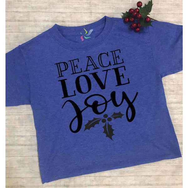 Peace, Love & Joy - Youth Graphic Tee