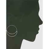 Crescent Hoop Earrings (5395703627941)