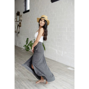 a+a Exclusive High Waisted Maxi Skirt - abby+anna's boutique (1881145540678)