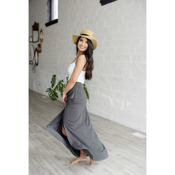 a+a Exclusive High Waisted Maxi Skirt - abby+anna's boutique