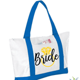 Bride with Ring Graphic Tote Bag (1960926478406)