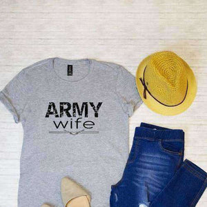Army Wife Graphic Tee (1733183340614)