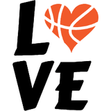 Basketball Love Graphic Tote