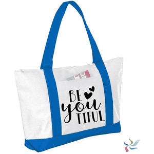 Be YOUtiful Graphic Tote Bag