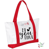 Be YOUtiful Graphic Tote Bag (1945982435398)