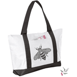 Bee Graphic Tote Bag (1945980633158)