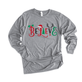 Believe  - Long Sleeve Tee