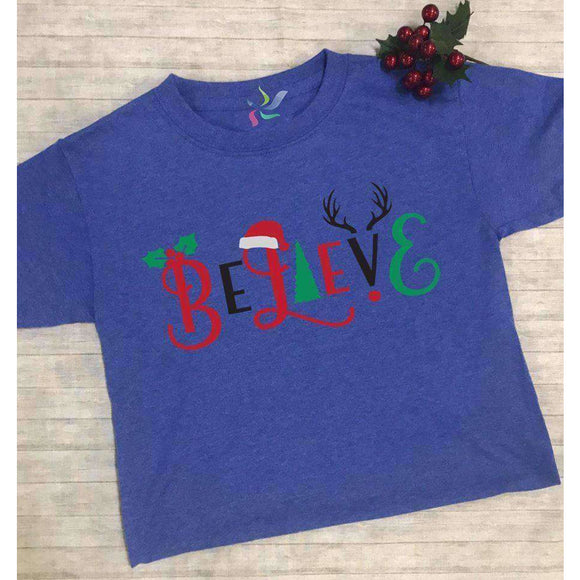 Believe - Youth Graphic Tee - Final Sale - abby+anna's boutique