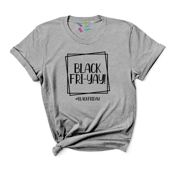 Black Fri-Yay - T-shirt (4344633360456)