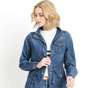 Chambray Anorak Jacket - FINAL SALE (2038888497222)