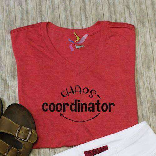 Chaos Coordinator Graphic Tee - Adult - abby+anna's boutique