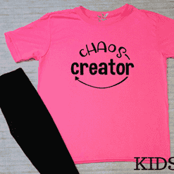 Chaos Creator Graphic Tee - Kids (1753136955462)