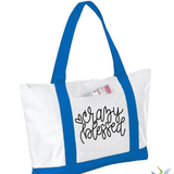 Crazy Blessed Graphic Tote Bag (1960924577862)