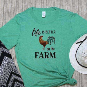Farm Life Graphic Tee - abby+anna's boutique