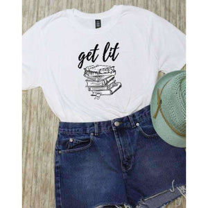 Get Lit Graphic Tee - abby+anna's boutique