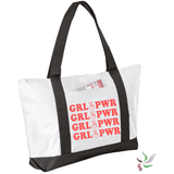 Girl Power Graphic Tote Bag (2041083428934)