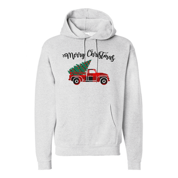 Holiday Truck - Graphic Hoodie (4374503161928)