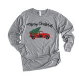 Merry Christmas Truck - Long Sleeve Tee - abby+anna's boutique