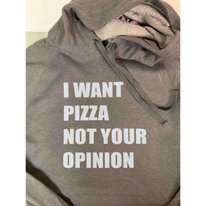 Not Your Opinion Hooded Sweatshirt - abby+anna's boutique