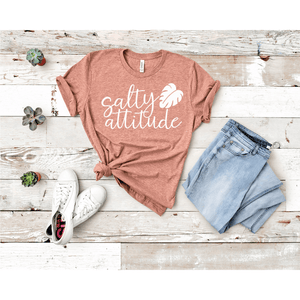 Salty Attitude  T-shirt - abby+anna's boutique