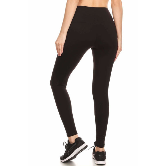 Slimming Athletic Fleece Leggings