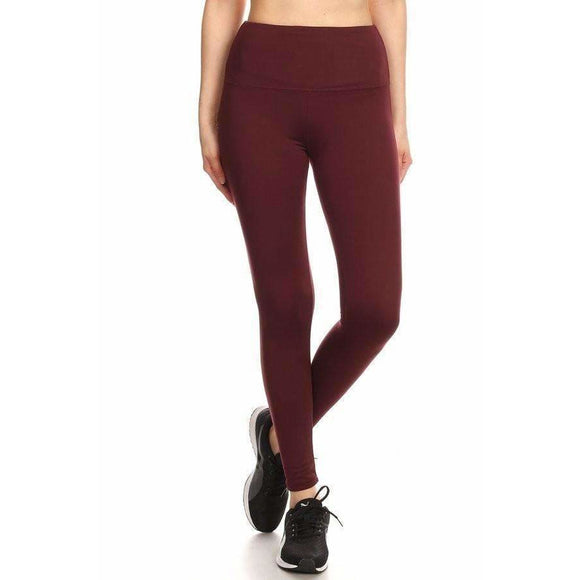 Slimming Athletic Fleece Leggings (4380784918600)