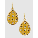 Small Teardrop Wood Earrings - abby+anna's boutique