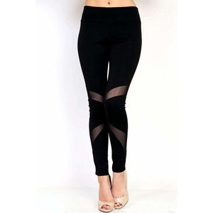 The Athletic Legging with Mesh Insert (4330998366280)