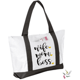 Wife. Mom. Boss. Graphic Tote Bag
