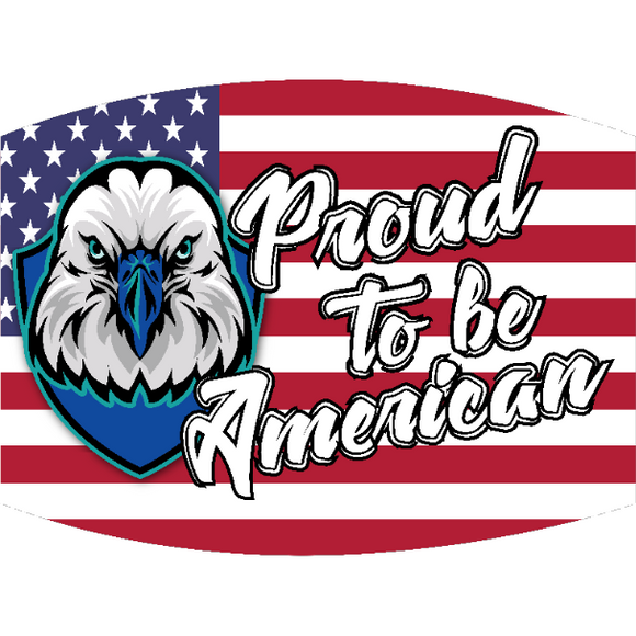 Proud to be an American - Adult & Youth  Non-Medical Face Mask (5573851316389)