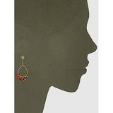 Teardrop Shape Beaded Drop Earrings - abby+anna's boutique