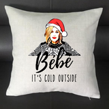 BeBe It's Cold Outside Pillowcase Cover - 16x16 - abby+anna's boutique